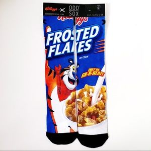 Odd Sox Kellog's Frosted Flakes Cereal Crew Socks